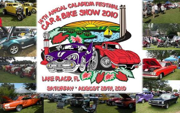lake placid fl caladium festival 2010 graphics